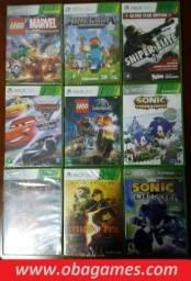 Games Xbox 360 Originais, Novos e Lacrados