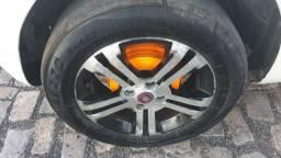 Vendo ou troco em roda de ferro ou Ródão aro 15 com volta pramin