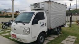 Transporte de carga refrigerada, carga seca e pequenas mudanças