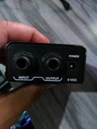 Amplificador Power Click F10 Para Fones De Ouvido Usado