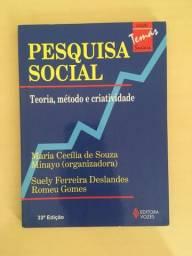 Livros da metodologia e pesquisa científica