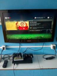 Tv Samsung e Ps 3