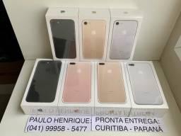? iPhone 7, 7 Plus 32gb. Novos. 1 ano de garantia - Troco