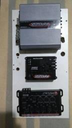 SounDigital 1200 + SounDigital 400 + Crossover Stetsom STX 82