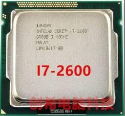 Processador i7 2600 3.40ghz socket 1155 aceito inferior+volta ac cartao