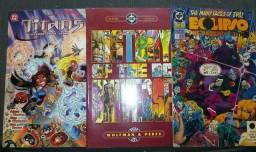 HQ's em Inglês da DC Comics