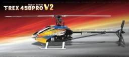 Aeromodelo align trex 450 pro
