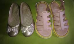 Sapatilha e sandalia melissa original 2 por preco