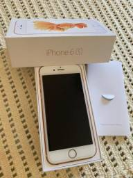 Iphone 6s Ouro Rosa 64gb - Impecável!!!