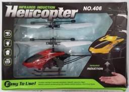 Mini Helicóptero Sensor De Mão - Voo Automático