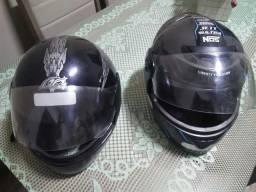 2 capacetes 1 só preço