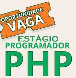 Processo seletivo 2020.2 - Estágio Programação PHP