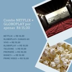 Vendo Tv Netflix ou Disney Plus Por R$10,00