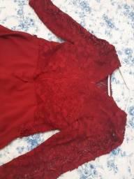 Vestido novo usado apenas uma vez