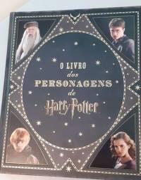 R$100,00. O livro dos personagens de Harry Potter