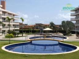 Apartamento com 3 dormitórios à venda, 111 m² por R$ 590.000,00 - Porto das Dunas - Aquira