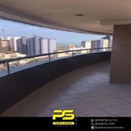 Apartamento com 3 dormitórios para alugar, 192 m² por R$ 2.500/mês - Intermarés - Cabedelo