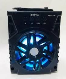 Caixa De Som Bluetooth/Sd/Usb/Fm- Inova - Produto Novo