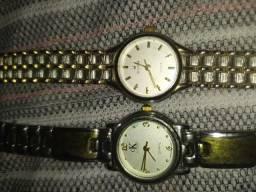 2 relógios antigos Bulgari e Calvin Klein, raridades!