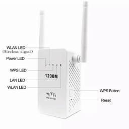 Mini Repetidor Roteador Wireless-n Ap Repetidor Router 2 Antenas