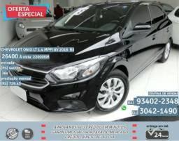Preto Chevrolet ônix lt 1.4 mpfi 8v 2018 R$26400 22000Km - 2018