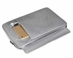 Capa de proteção acolchoado para notebook 15.6 novo