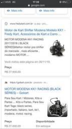 Motor shifter kart