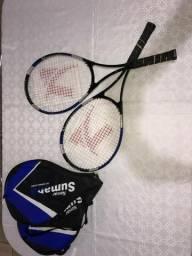 Par de raquetes de tênis