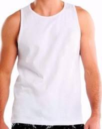 Camiseta regata masculina 100% algodão