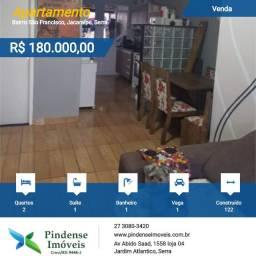 Apartamento em Jacaraípe, 02 quartos