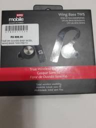 Vendo fone de ouvido easy Mobil preto