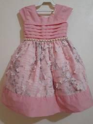Vestido de festa  Tam 3 (menina)