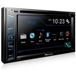 DVD automotivo Pioneer AVH298bt 2dim