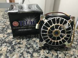 Cooler para Processador Titan Cool& Silent 80 mm