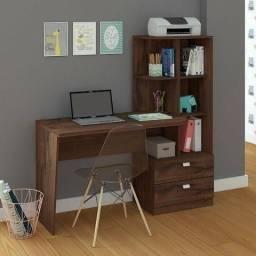 Título do anúncio: Mesa para computador Elisa com estante (produto novo)