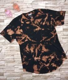 Promoção Camisetas Longline tie dye