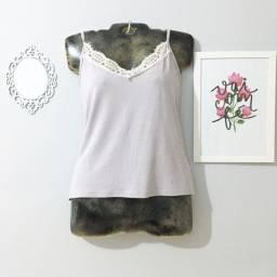 Título do anúncio: Blusa regata lilás