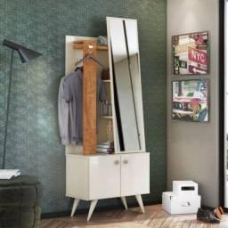 Mesa de Cabeceira Toucador 2 Portas Solaris Lukaliam Móveis