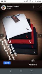 Camisetas 40$ cada 2 70$ vem de chat ou de whats *