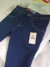 Título do anúncio: Calça jeans com lycra número 40