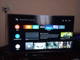 Título do anúncio: Vendo essa smart tv tcl 50 pol. 4k Led full HD com inteligência artificial