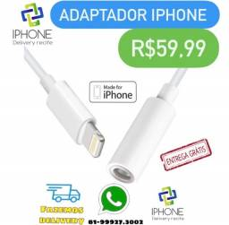 Título do anúncio: Adaptador Fone de Ouvido IPhone (Entrega Grátis)