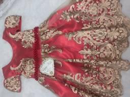 Título do anúncio: Vestido realeza vermelho