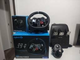 Título do anúncio: Volante g29 para Playstation 4, Playstation 3, Playstation 5 e Pc