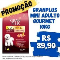 Ração GranPlus mini adulto gourmet 10.1kg 89,90