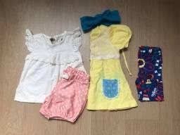 Título do anúncio: Lote roupa menina