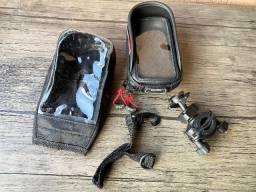 Suporte de Telefone para Bicicleta / Moto - Givi S957bbr - iPhone 6s / Samsumg S7 e outros