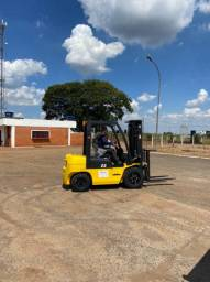 Empilhadeira Hangcha 2,5 toneladas Diesel | Torre Triplex |  NOVA