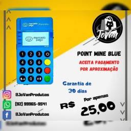 Máquina de cartão Point Mini blue