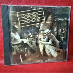 Cd led zeppelin in through the out  Door